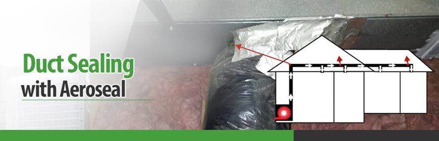 Duct Sealing with Aeroseal in Maryland & DC Metro Areas