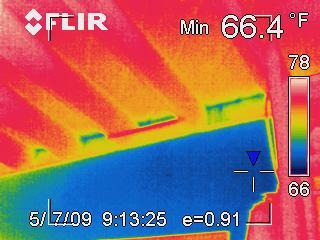 Interpreting infrared photo 1