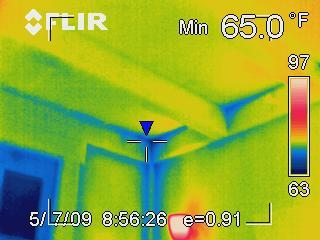 Interpreting infrared photo 2