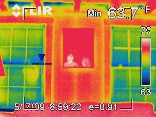 Interpreting infrared photo 5