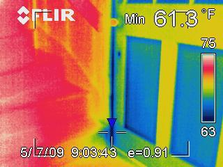 Interpreting infrared photo 7